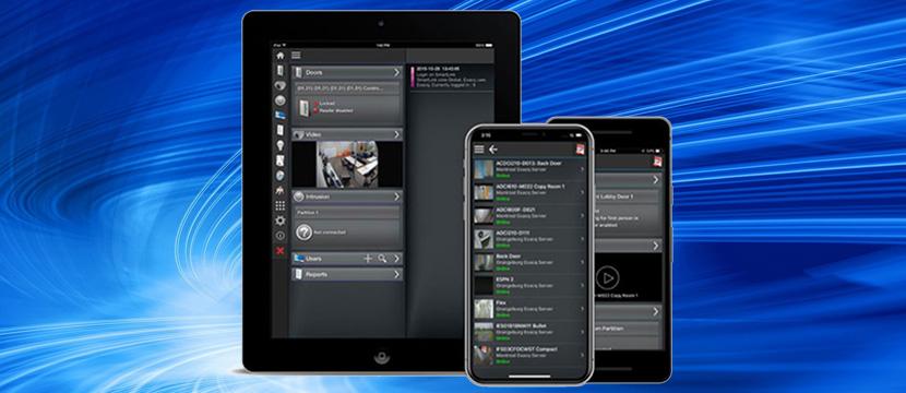 Johnson Controls объявляет о интеграции VideoEdge с мобильным приложением EntraPass Go